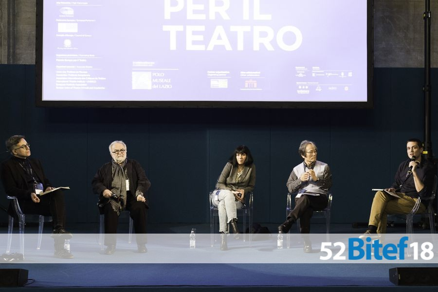 "Panel discussion of the 50th anniversary of BITEF in the Roman Palace of Venice, in the framework of ""Pri Europa"""